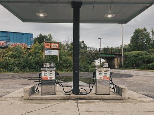 Der bruges fx pumper på tankstationer
